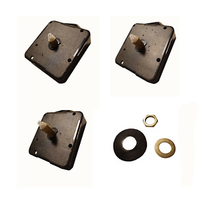 New Replacement Quartz Clock movement mechanism with fittings hand selection