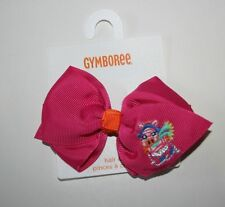 New Gymboree Girls Pink Bow Zebra Barrette Clip Hair Accessory NWT Color Happy
