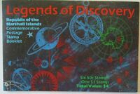 Weltraum, Marshall Inseln, Legends of Discovery Markenheftchen xx (44495)