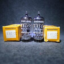 NOS/NIB Matched Pair Siemens E82CC/6189 (=12AU7) Germany Same Date Code