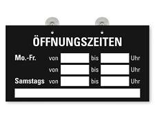 """Türschild Fensterschild """"Inhaber"""" 3er Kombination Öffnungszeiten Verbote etc."""