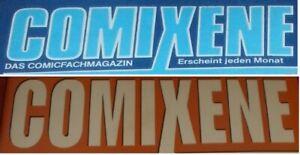 Comixene - Das Comicfachmagazin - zum Auswählen - Becker & Knigge