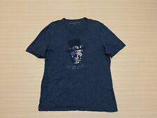 John Varvatos USA T Shirt Mens ~ Sz Medium ~ Skull Print Short Sleeve Top Cotton