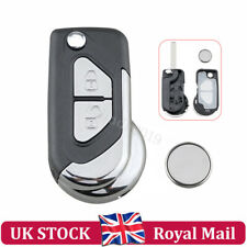 For Citroen DS3 2 Button Remote Key Fob Case Service Repair Kit + CR1620 Battery