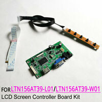 HDMI VGA eDP controller board kit for LTN156AT39-B01//H01//L01 laptops lcd display