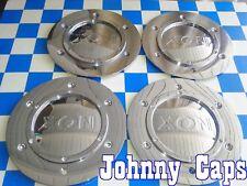 XON Wheels CHROME Center Cap # 80592495F-1  Custom Wheel Center Caps (Set of 4)