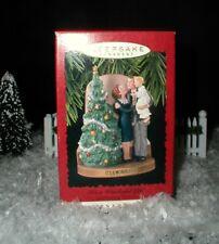 It's a Wonderful Life Hallmark Ornament George Mary Zuzu Christmas Tree Bell NEW