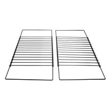 2x Extendable Grill Oven Shelf Rack Screw Fix Arm Adjustable For Baumatic Cooker