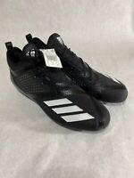 Adidas Mens B27975 Adizero 5-Star 7.0 Low Football Cleats - Black Size 13.5 NEW
