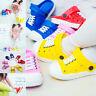 Girls Kids Boys Toddler Croc Style Sandals Slippers Beach Caterpillar Shoes US