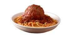 Spaghetti With Giant Meatball Fake Food Prop L@k.