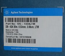 Agilent J&W DB-624 GC Column 30 m 0.53 mm 3.00 µm LTM 125-1334LTM