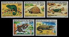 Mali 1976 - Mi-Nr. 523-527 ** - MNH - Reptilien / Reptiles