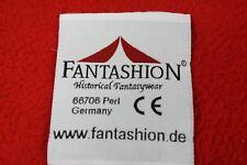 10 x  FANTASHION Schriftzug  Stoff- Aufnäher, ca. 50 x 60 mm, ,gedruckt NEU