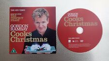 Gordon Ramsay COOKS CHRISTMAS The Times promo DVD.