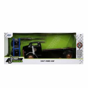 Jada Just Trucks Series: 1947 Ford COE Flatbed Truck with Wheels Rack 1/24 Scale