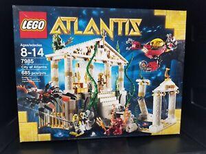 LEGO 7985 - City of Atlantis - Brand New in Sealed Box