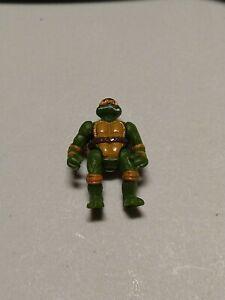 MICHAELANGELO Micro Mini Playset figure Ninja Turtles Playmates vtg