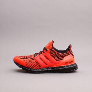 Adidas Running Ultraboost 5.0 DNA Solar Red Black New Men Shoes gym G54961