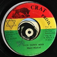 Major Mackrel 45 Reggae Run Down Man Version VG Tuff Gong Jamaica