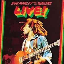 Bob Marley and The Wailers Live 180gsm Vinyl LP Plus Mp3