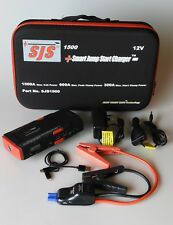 SJS SMART JUMP START CHARGER AND POWER PACK 1500Amp  4.2L Diesel 7.0L Petrol
