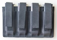 Quad Magazine Pouch - Colt 45 & Springfield 45 1911 Single Stacked 7-9 Rounds