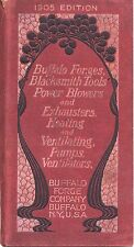 Buffalo Forge Company- Catalog No. 167, 1905- Forges, Drills, Blowers- 247 Pgs.