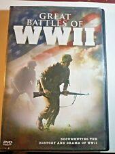 Great Battles of World War II DVD (2009) LIKE NEW