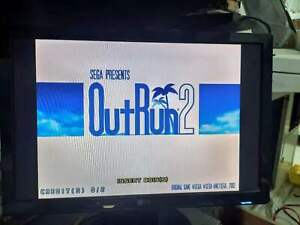 Sega Chihiro Outrun 2 GD-ROM with Security Chip Tested Working