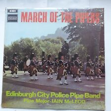 March of the pipers EDINBURGH CITY POLICE PIPE BAND STAL 5003