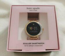 Kate Spade Women Scallop 2 Gold Stainless Steel Touchscreen Smartwatch KST2010