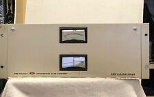 vintage CBS Labs Stereo FM Volumax 411 peak controller/broadcast limiter +manual