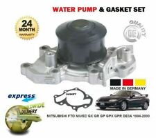 FOR MITSUBISHI FTO MiVEC GX GR GP GPX GPR DE3A 1994-2000 WATER PUMP & GASKET