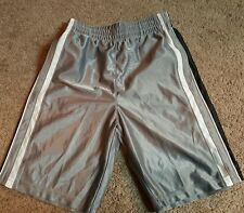 Simply for Sports Boy's Basketball Shorts, Gray, Sz. 5