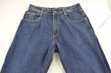 """SOUTHPOLE 4180 Straight Leg Relaxed Fit Blue Jeans Men's Size Tag 34"""" Actual 30"""""""