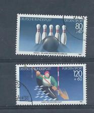Sellos de Alemania. 1985 par de promoción de Deportes Usada. (A737)