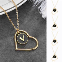 Initial Letter  Alphabet HEART A - Z Personalised Pendant GIFT Necklace