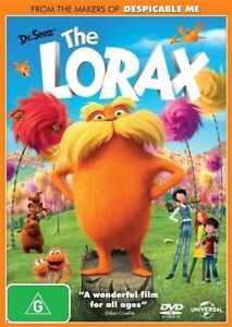 Dr. Seuss' The Lorax DVD Brand & New Sealed