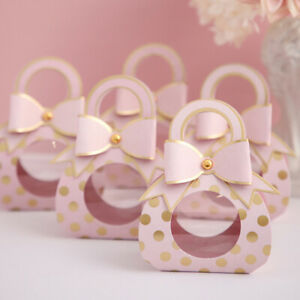 5-50X Romantic Marriage Party Paper Wedding Favour Candy Sweets Gift Boxes