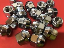 "FORD FALCON AU BA BF FG & PRE AU Open End Tapered Chrome Wheel Nuts 1/2"" Qty20"