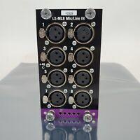 Meyer Sound LX-ML8 Analog Audio Input Card for LCS Matrix3 LX-300 Show Control
