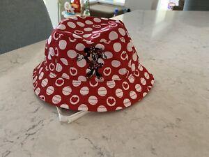 Disney Parks Minnie Mouse Infant Beach Hat
