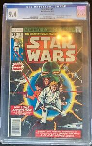 Star Wars #1 (Jul 1977, Marvel) Graded 9.4 by CGC Universal Grade
