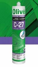 More details for olive c-27 silicone - chartwell green - upvc fitting sealant - 300ml