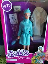 RARE 2021 NRFB REPRO 1973 DOCTOR BARBIE DOLL NEW IN BOX