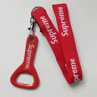 Red Lanyard Key Ring Chain with Bottle Opener Keychain