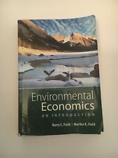 Environmental Economics: An Introduction (The Mcgraw-Hill) by Field, Barry C.