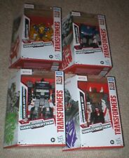 TRANSFORMERS EXCLUSIVE WALMART SET- CHEETOR, DEEP COVER, SPARKLESS,& ARMY DRONE