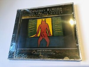 GEOFFREY BURGON - THE FALL OF LUCIFER AND OTHER WORKS '94 Silva Screen CD SEALED
